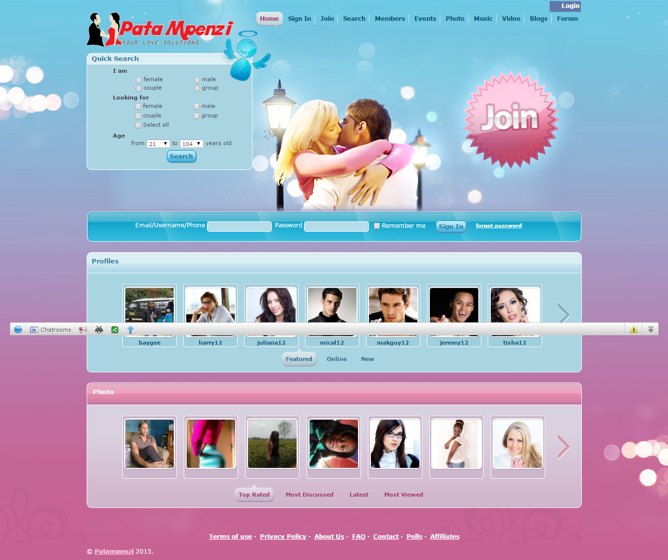 username for dating site examples